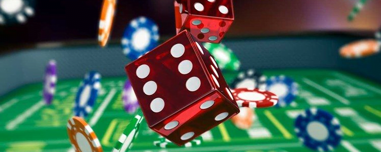 playing the online casino games.